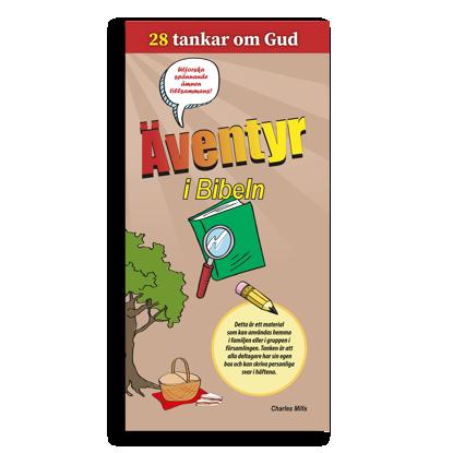 Bild på Äventyr i Bibeln. 28 tankar om Gud.