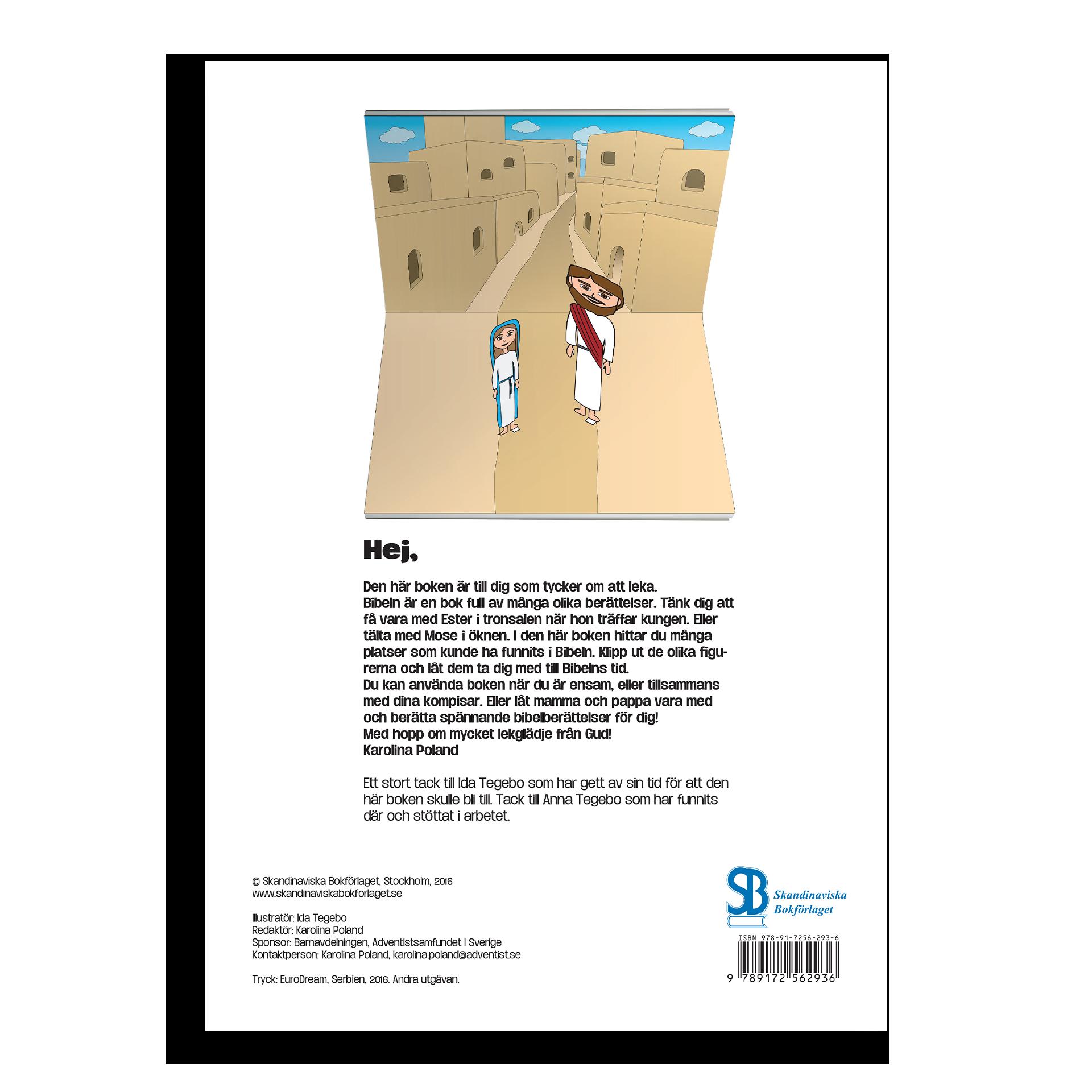 Bild på Klipp och lek med Bibelns berättelser